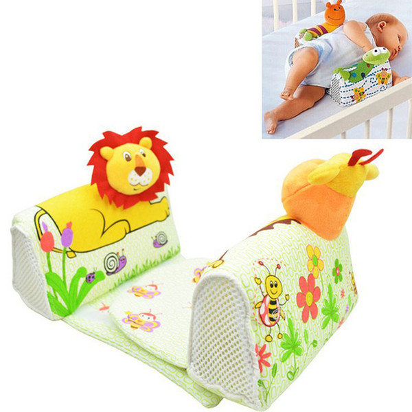 best selling Animals Shape Baby Pillow Anti Rollover Baby Safe Anti Roll Pillow Sleep Head Positioner