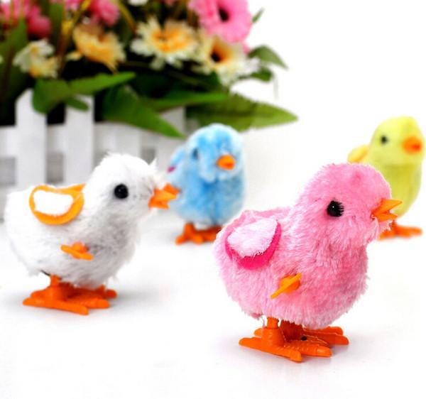 Pollo a catena della peluche, stalla del pollo del vento buona fornitura, vendita all'ingrosso di giocattoli caldi
