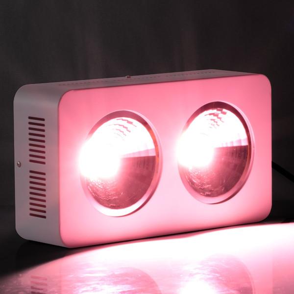 El más nuevo de alta potencia de espectro completo llevó luces Reflector COB de 400 W para el cultivo comercial de plantas de cultivo hidropónico Planta comercial