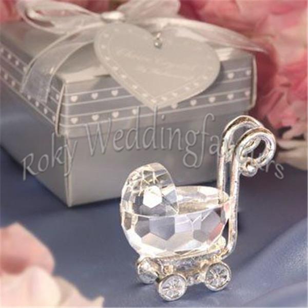 Großhandel Dhl Freies Verschiffen 100 Stücke Nette Kristall Baby