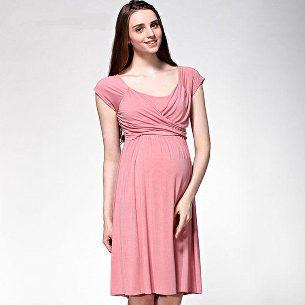 633499f164641 Newbaby Moms Summer maternity clothes maternity dresses nursing dress  Breastfeeding Dresses pregnancy clothes for Pregnant Women