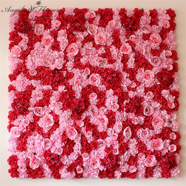 10pcslot 4060cm artificial flower wall wedding hotel wedding 10pcslot 4060cm artificial flower wall wedding hotel wedding background decoration silk rose junglespirit