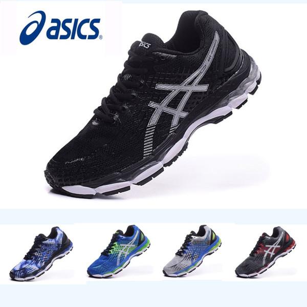 Asics Chaussures De Course Nimbus17 Hommes Chaussures, Antidérapant Confortable Respirant Athlétisme Discount Baskets Chaussures De Sport Livraison Gratuite Eur 36-45