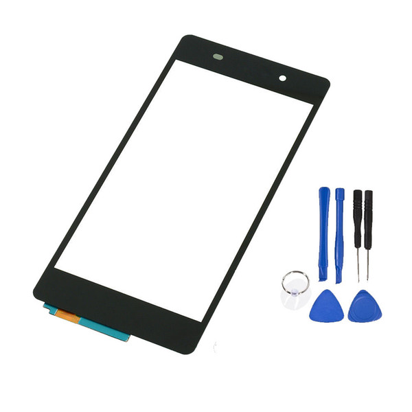 for Sony Xperia Z2 Touch glass Front LCD Outer Glass Screen + Open Tools Replacement parts replace repair New Free Shipping