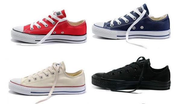Großhandel Neue Qualität Klassische Low Top High Top Canvas Freizeitschuhe Sneaker Herren Damen Canvas Schuhe Größe EU35 46 Einzelhandel Von
