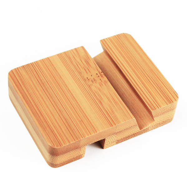 Bamboo Wood Phone Holder for iPhone,Portable Wood Speaker Mobile Phone Accessories Wireless Wooden Speaker for iPhone for Huawei