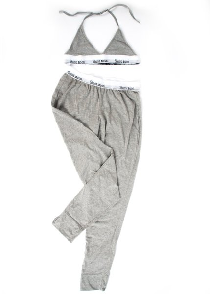 best selling Classic fashion Women's pants set, Underwear sets Long pants Bra Set