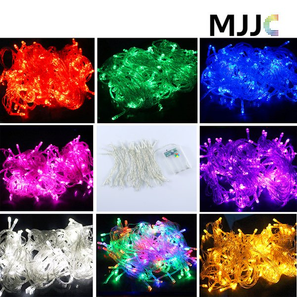 NEW Multicolor 5M 50LED String Fairy Lights Battery Operated XMAS Christmas in/outdoor