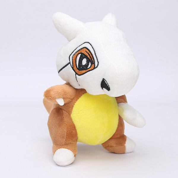 20pcs 16cm Janpenese Anime pikachu Cute Cubone Plush Soft Stuffed Doll Toy for kids gift