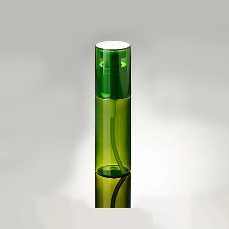 50 ml Verde Recargable Plástico Maquillaje Botella Bomba Látex Loción Botella Viajes Cosméticos Envases Señora Favor 20 unids / lote