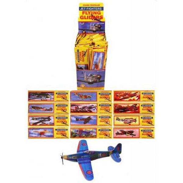 12Pcs DIY Hand Throw Flying Glider Planes Foam Aeroplane Model Party Bag Fillers Kids Toys Children Game