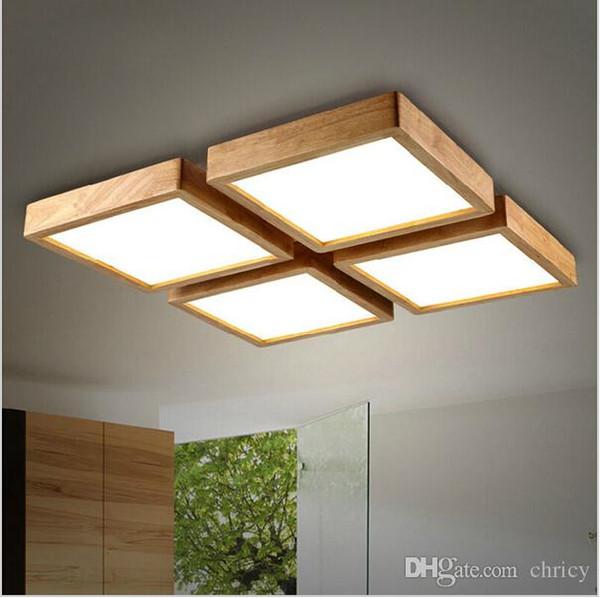 new creative oak lmparas de techo modernas para sala de estar lampara techo lmparas de techo de techo led luminaria