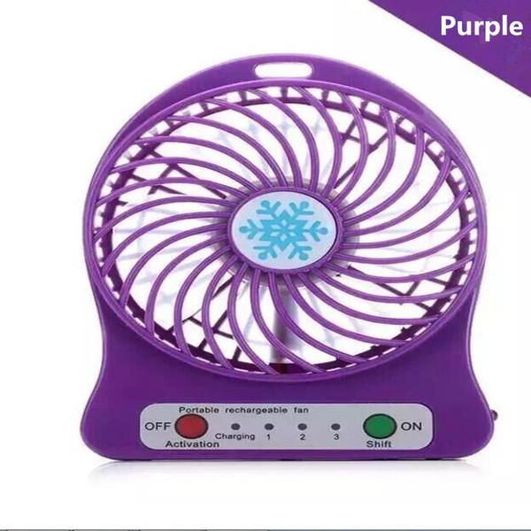Mini Protable Fan Purple