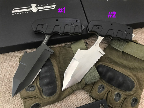 New Arrival Extrema Ratio S.E.R.E 1 Outdoor survival Tactical knife D2 Tanto Blade G10 Handle Fixed Blade Knives