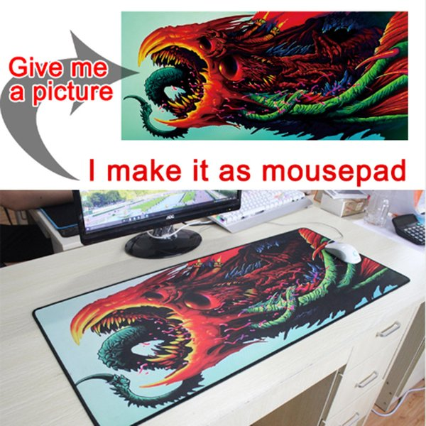 MAIRUIGE Brand CSGO Monster Super Large Mouse Pad Game Player Tablet Computer Slippery Mouse Game Keyboard Pad