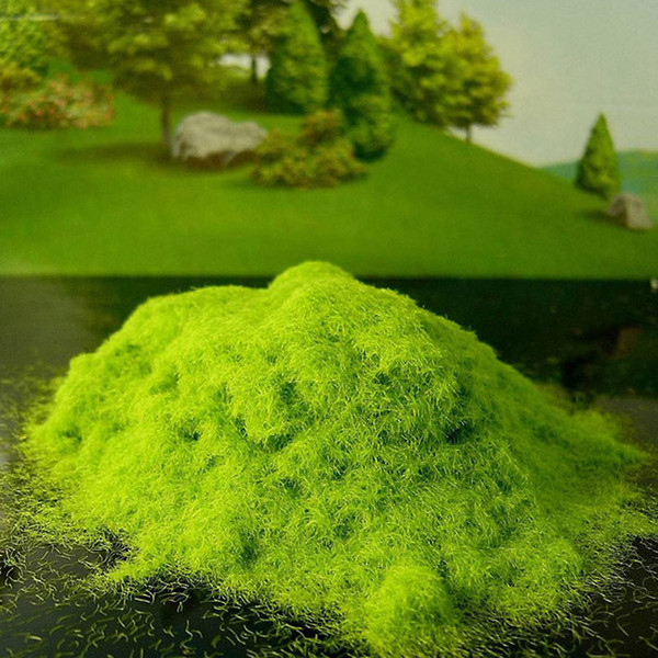 Wholesale- Artificial Grass Powder Sandbox Game Craft Decor Micro Landscape Decoration Home Garden DIY Accessories Building Model Material