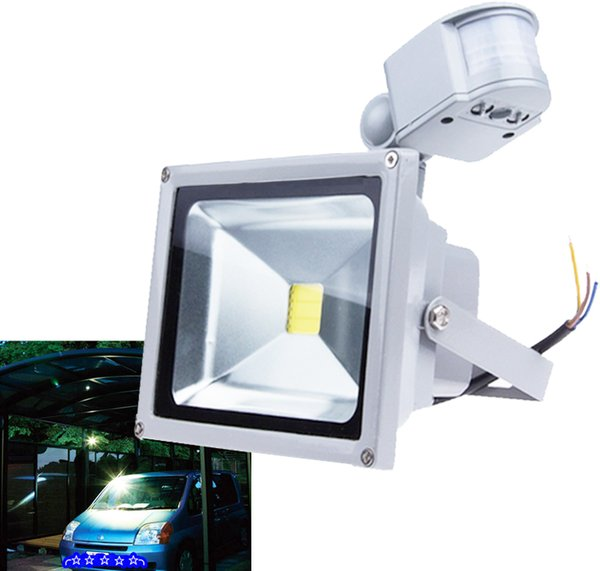 LED Motion Sensor Light Detector Flood lights IP65 Waterproof Ourdoor Activated Switch Landscape Lamp Sensor Bulb