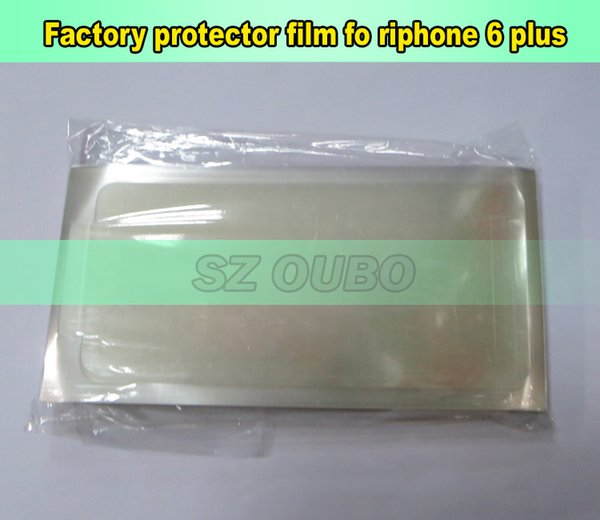 For iphone 6 plus Clear Protective Film Front LCD Screen Protector For Apple iPhone 6 plus Refurbishment 500 pcs/lot