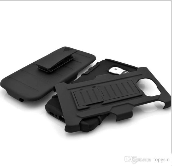 For iphone 6 5 Plus Future Armor Impact Hybrid Hard Case Cover + Belt Clip Holster Kickstand Combo For iphone6 5S 4.7 5.5 inch LG HTC NOKIA
