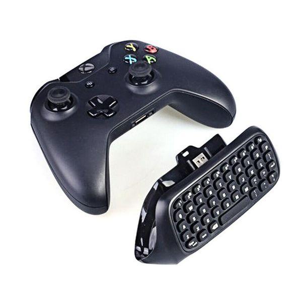 2.4G Mini Wireless Blutooth Gioco Messenger Chatpad tastiera di testo per Xbox One Controller video giochi con imballaggio al dettaglio