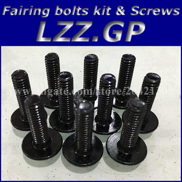 Fairing bolts kit screws for HONDA CBR900 893 1994-1997 CBR900RR 94 95 96 97 CBR893 893RR 94-97 Fairing screw bolts Black silver