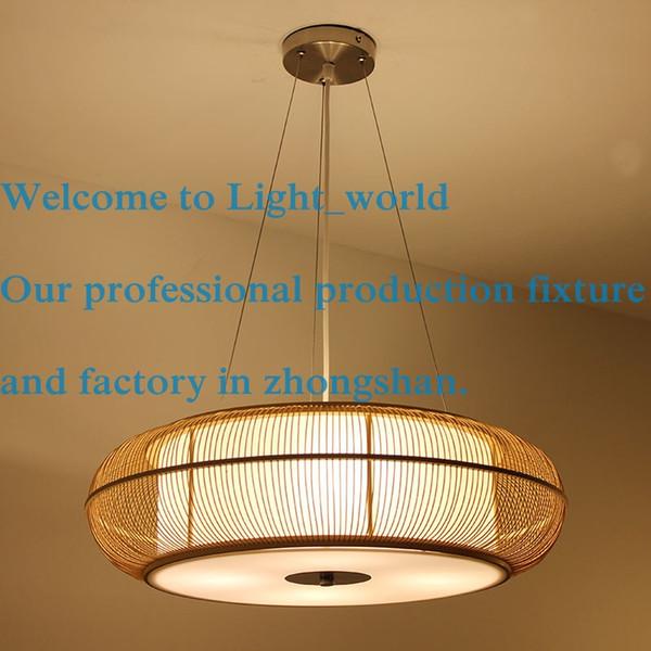 Dia 46cm56cm modern japanese dining room lamp droplight pendant dia 46cm56cm modern japanese dining room lamp droplight pendant lamps bamboo chandelier garden lighting aloadofball Images