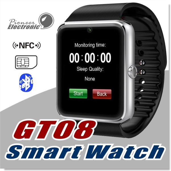 Gt08 dz09 bluetooth mart watch port wri tband bracelet martwatch with im card lot and nfc health u8 watch for android io martphone