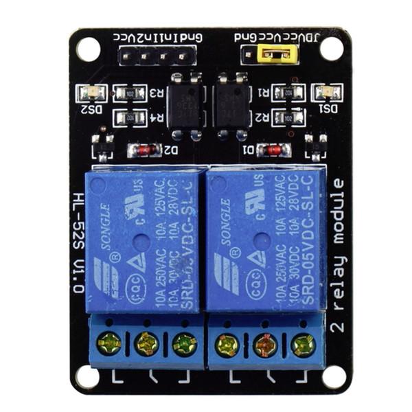 Schermo per relè a 5 canali 2 canali con optoaccoppiatore per Arduino ARM PIC PLC AVR DSP MCU SCM Singlechip elettronico