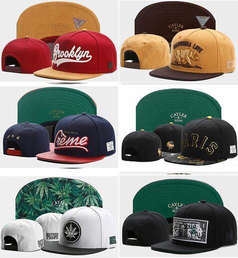 Vente en gros de nouveaux CAYLER SONS Drapeau US Réglable Snapbacks Casquette de Baseball Chapeau Pas Cher Holy Brooklyn Sauvage Style casquettes Label Rasta Power Headwears