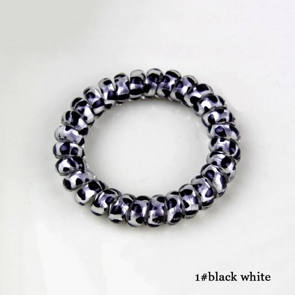 1 blanc noir