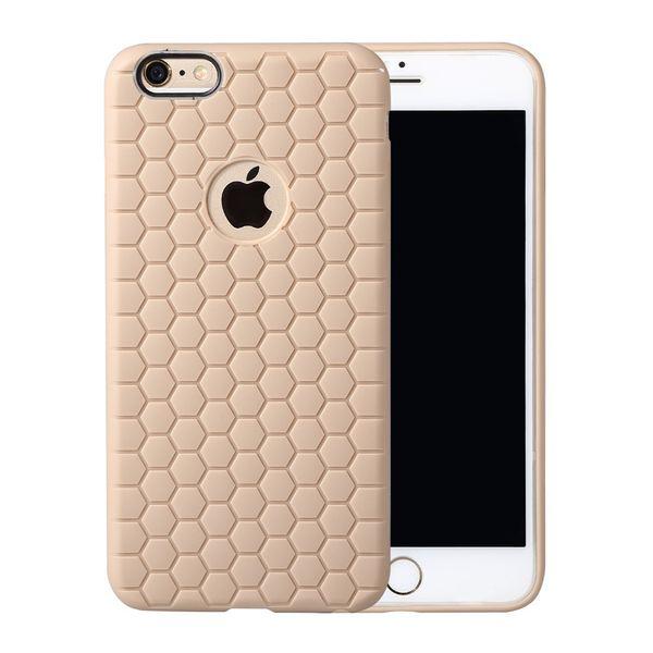 Stoßfest Rüstung Fußball Platz Ultra Thin dünne weiche TPU + PC Honeycomb Abdeckung Fall Haut für iPhone SE 5 5S Samsung s7