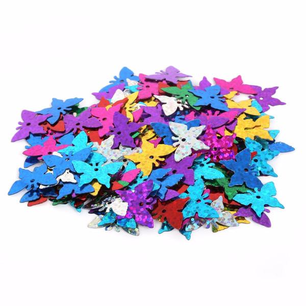 Yeni Gelenler Karışık Renk için farklı boyut Gevşek Pullu Giyim Accssory DIY Craft Scrapbooking Düğün Için