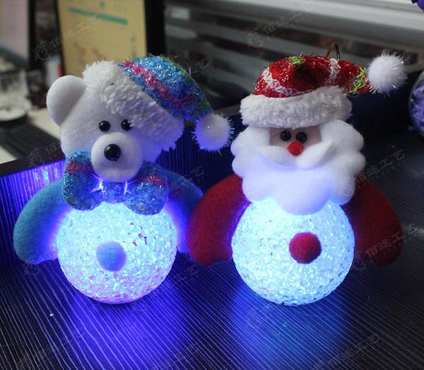 Christmas decorations EVA old snowman kakuma litchi grain emitters snowman Christmas tree ornaments