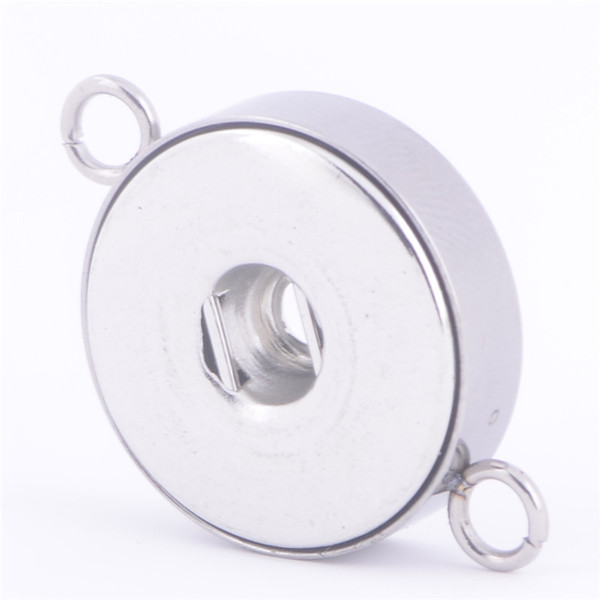 Hot selling cheap Stainless steel Alloy 12MM&18mm NOOSA chunks snap button charms jewelry pendant necklaces wholesale lots