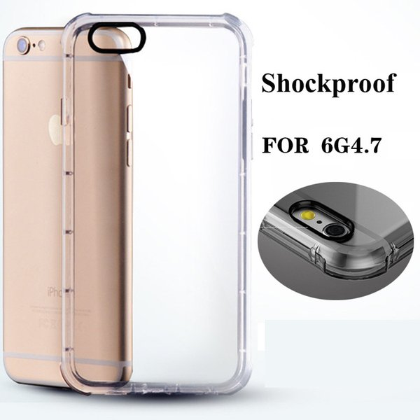 Cheap Price Gasbag Design Cover Ultra Thin TPU Transparent Cell Phone Back Cover Anti-Shock Bumper Cell Phone Cases for Iphone6 Iphone6plus