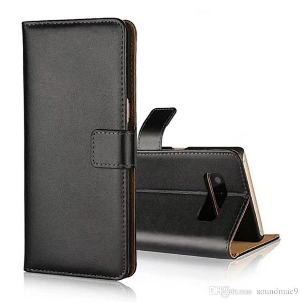 Per iPhone X 8 7 Portafoglio Custodia Cover posteriore con slot per schede Cavalletto per Samsung note8 s8 plus LG V30 Alcatel Idol5 OPPBag