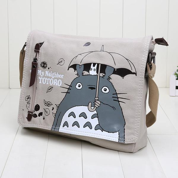 31 * 26cm Neighbor Totoro borse a tracolla per bambini bambini singolo sacchetto di spalla chiildren scuola borsa giocattolo per ragazzi e ragazze regalo Spedizione gratuita