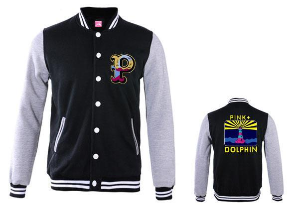 Compre Fall Men Chaquetas Pink Dolphin Fleece Prendas De Vestir Exteriores Coats Nombre De La Marca Ropa De Hombre Hiphop Otoño E Invierno De Prendas