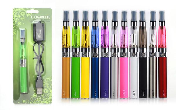 elektronische zigarette ego ce4 Blister kit 1,6 ml zerstäuber vape pen ecig 650 900 1100 mah EGO T batterie blister kit verdampfer E zigaretten