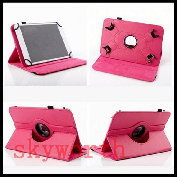 Universal 360 rotierenden Fall für 7 8 9 10 Zoll Tablet MID Galaxy Registerkarte 4 7.0 T230 T530 ipad Stand