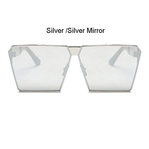 Cadre Argent Miroir