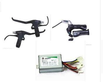 free shipping electric scooter motor 350W24V electric motor controller electric bike kit