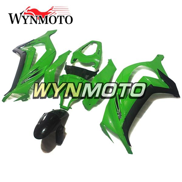 Fairings For Kawasaki ZX-10R 2011 - 2015 2012 2013 2014 ABS Injection Plastics Cowlings Covers Bodywork Hulls Panels Green Sportbike Frames