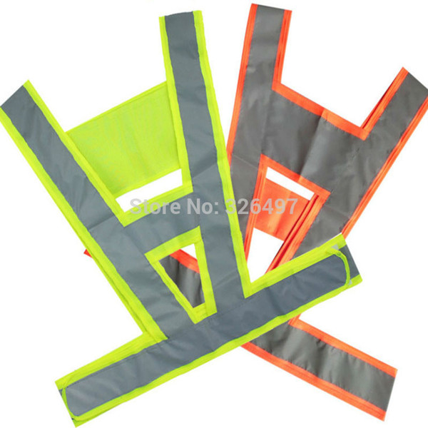 chaleco reflectante Anti freeze crack reflective vest V clothing high visibility Safety belt article Safe in Night Reflective