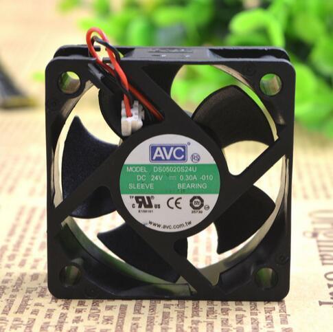 Großverkauf: ursprüngliches AVC 5CM 50 * 50 * 20 24V 0.30A DS05020S24U Zweidraht-Inverterlüfter