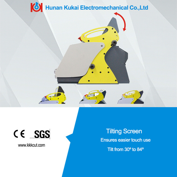 CE&SGS approved key numerical control automated computerized key cutting machine for cutting car keys and residential keys