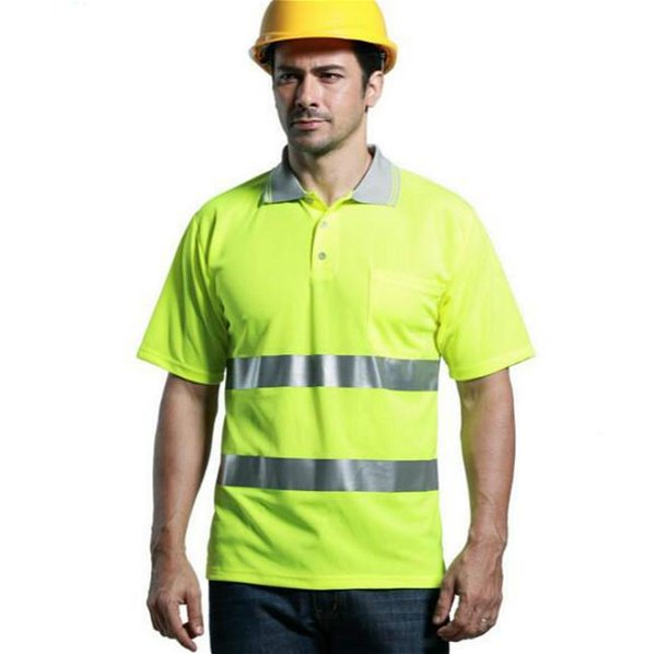 2016 Reflective Safety Clothing High Visibility Working Safety Construction T-shirt Warning Reflective traffic working RS-10 Quick drying