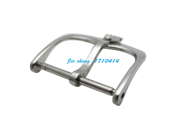top popular 14mm 18mm Brand Top-Grade Stainless Steel Watchband BANDS Strap Clasp pin buckle For Rol ex 2019