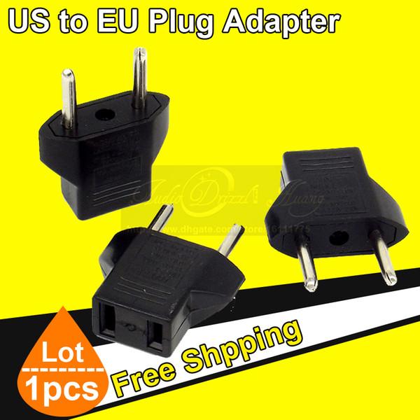 Wholesale Quality Universal EU Adapter US to EU Plug USA To Euro Europe Travel Wall AC Power Charger Charging Converter Adaptor Socket