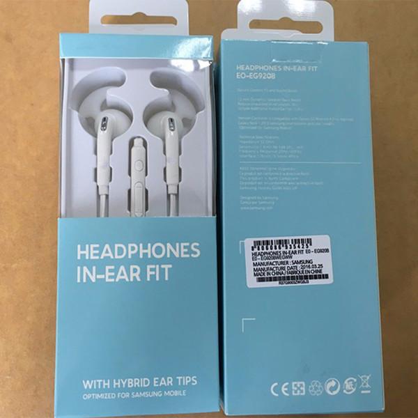 EG920 Esportes Earbuds Mic Controle de Voz Remoto Stero 3.5mm Fones De Ouvido Universel para Samsung S6 S7 Note5 Frete grátis nova chegada